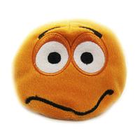 """Плюшевый интерактивный """"Смайл"""" Оранжевый."""