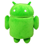 "Мягкая игрушка ""Android"" зеленый"