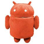 """Мягкая игрушка """"Android"""" красный"""
