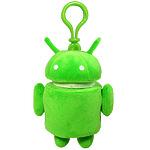 """Плюшевый брелок """"Android"""" зеленый"""