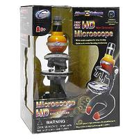 """Игровой набор """"HD Microscope"""" (ЭйчДи Микроскоп), цвет желто-красный, 20 элементов"""