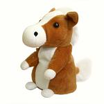 """Интерактивная игрушка - повторюшка """"Лошадка"""", коричневая"""