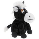 """Мягкая интерактивная игрушка """"Лошадка """"Непоседа"""", 21см, чёрная"""
