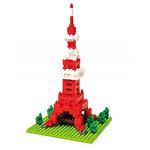 "Мини-конструктор Nanoblock (Наноблок) ""Телебашня Tokyo Tower"", 280 элементов"