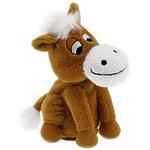 """Мягкая интерактивная игрушка """"Лошадка """"Непоседа"""", 21см, коричневая"""