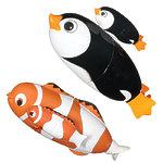 """Игрушка для ванной """"Быстрая, дикая рыбка пингвин"""", в ассортименте"""