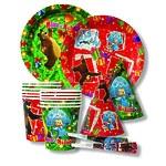 """Набор посуды """"Маша и Медведь. Новый год"""", 24 предмета"""
