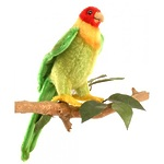 """Мягкая игрушка """"Каролинский попугай"""", 17 см"""