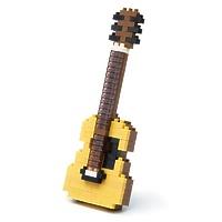 """Мини-конструктор Nanoblock (Наноблок) """"Акустическая гитара"""" 150 элементов"""