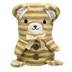 """Мягкая игрушка-полотенце """"Медвежонок"""", 100 x 70 см"""