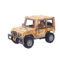 """Конструктор 3D Action Puzzle (Экшн Пазл) """"Джип XL"""", цвет коричневый"""