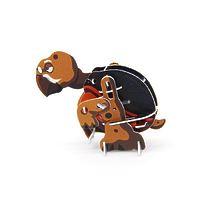"""Конструктор 3D Action Puzzle (Экшн Пазл) """"Животные. Черепаха"""""""