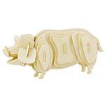 """Конструктор 3D Деревянные пазлы """"Животные. Свинка"""""""
