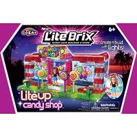 """Конструктор Lite Brix Girls (Лайт Брикс Гёлс) """"Конфетный магазин"""""""