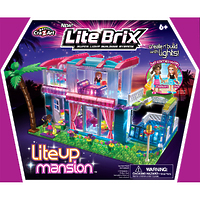 "Конструктор Lite Brix Girls (Лайт Брикс Гёлс) ""Особняк"""