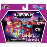 "Конструктор Lite Brix Girls (Лайт Брикс Гёлс) ""Пекарня"""