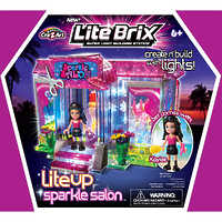 "Конструктор Lite Brix Girls (Лайт Брикс Гёлс) ""Сверкающий салон"""