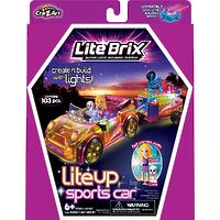 """Конструктор Lite Brix Girls (Лайт Брикс Гёлс) """"Спортивная машина"""""""