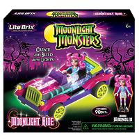"""Конструктор Lite Brix Moonlight (Лайт Брикс Мунлайт) """"Машина монстров"""""""