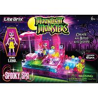 """Конструктор Lite Brix Moonlight (Лайт Брикс Мунлайт) """"СПА-салон монстров"""""""