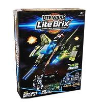 """Конструктор Lite Brix (Лайт Брикс) """"Военная битва. Звездолет"""""""