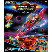 """Конструктор Lite Brix (Лайт Брикс) """"Битва. Самолет-убийца"""""""