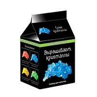 """Научная мини-игра """"Выращиваем кристаллы"""", цвет синий"""