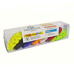 Большой комплект дополнительных резиночек №4 (7 цветов, 2100 шт.)