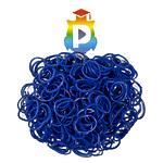 Комплект дополнительных резиночек №16 (цвет темно-синий, 300 шт.)