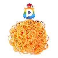 Комплект дополнительных резиночек №23 (цвет светло-оранжевый, 300 шт.)