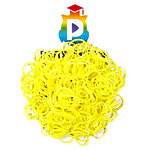 Комплект дополнительных резиночек №24 (цвет лимонный, 300 шт.)