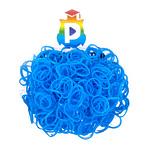 Комплект дополнительных резиночек №25 (цвет голубой, 300 шт.)