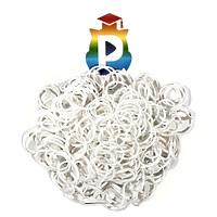 Комплект дополнительных резиночек №35 (цвет белый, 300 шт.)