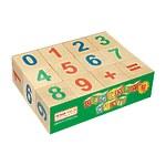 Набор кубиков «Веселый счет», 12 штук