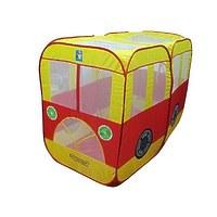 """Детская игровая палатка в сумке """"Ну, погоди!"""" автобус 135x100x65см"""
