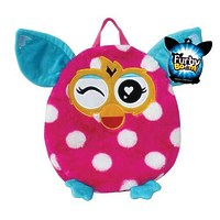 """Плюшевый рюкзак """"Furby"""" горох, 35 см"""