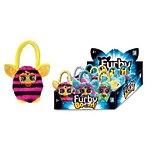 """Плюшевая сумочка """"Furby"""" в полоску, 12 см"""