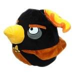 "Декоративная подушка Angry Birds Space ""Чёрная птица Black Firebomb bird"" 25см"
