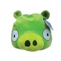 "Декоративная подушка Angry Birds ""Зеленая свинка Green pig"", 25см"