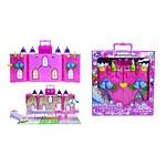 """Игровой набор Красотка """"Замок для кукол """"Колокольчик"""" с мебелью, 29 деталей"""