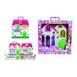 """Игровой набор Красотка """"Дом для кукол с мебелью"""" 1 секция, 29 деталей"""