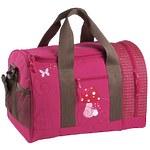 """Детская спортивная сумка """"Грибок"""" розовый"""