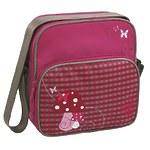 """Детская сумка квадратная мини """"Грибок"""" розовый"""