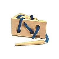 Развивающая игрушка «Шнуровка «Сыр»