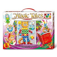 Мозаика «Сказки», с аппликацией