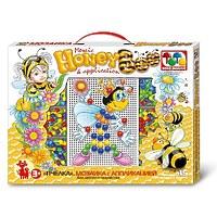 Мозаика «Пчёлка», с аппликацией