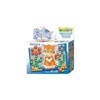Детская мозаика «Котята», с аппликацией