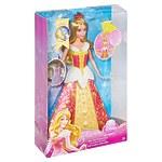 """Кукла """"Спящая красавица"""" при прокручивании  короны на  голове принцессы"""
