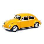 """Машина металлическая """"Volkswagen Beetle 1967"""", инерционная, желтый матовый цвет"""