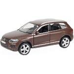 """Машина металлическая """"Volkswagen Touareg"""", инерционная, коричневый матовый цвет"""